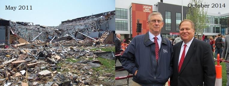 Joplin School Before & After