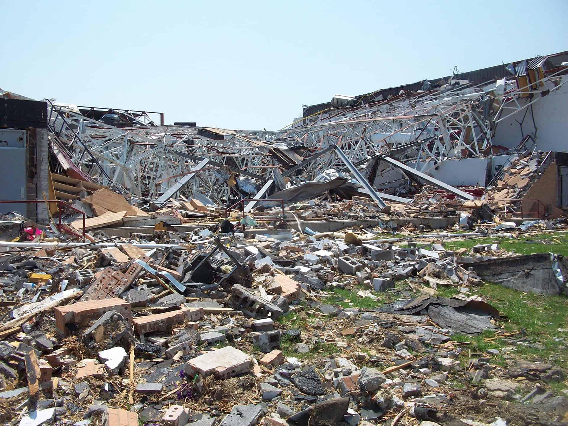 Joplin HS Damages